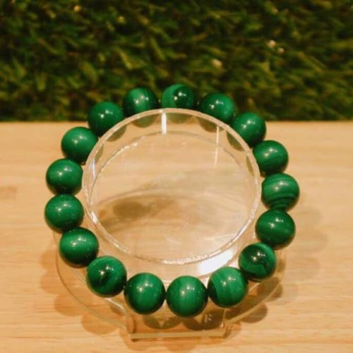 MALACHITE BRACELET 12MM